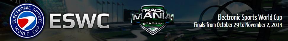 Trackmania² - Stadium - ESWC 2014