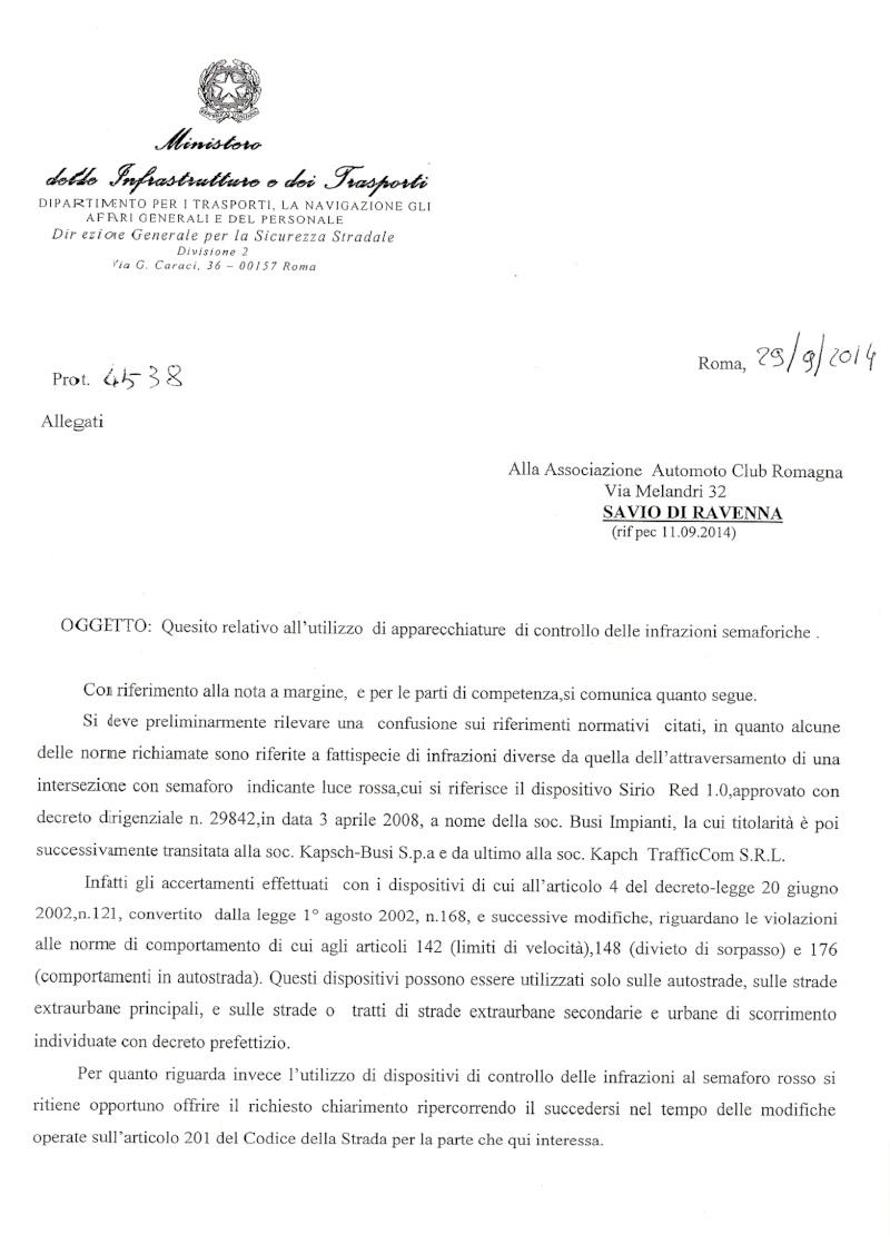 Esposto al Ministero dei Trasporti per Incrocio Classicana Ravegnana di Ravenna Pag_110