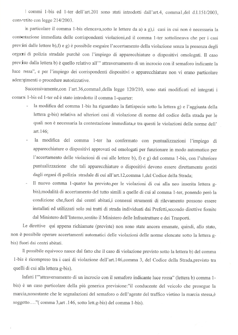 Esposto al Ministero dei Trasporti per Incrocio Classicana Ravegnana di Ravenna Pag_210