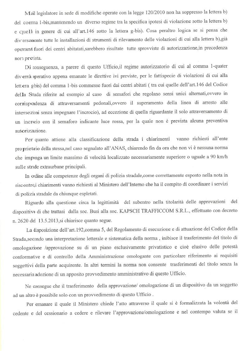 Esposto al Ministero dei Trasporti per Incrocio Classicana Ravegnana di Ravenna Pag_310