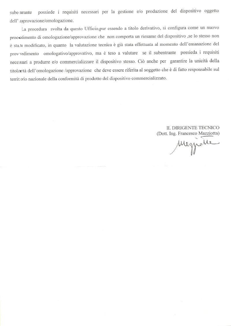 Esposto al Ministero dei Trasporti per Incrocio Classicana Ravegnana di Ravenna Pag_410
