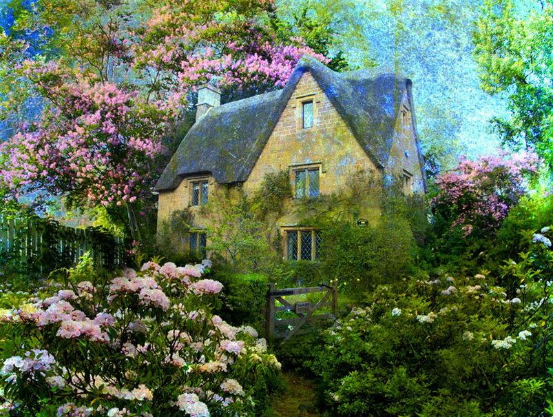 du jardin à la maison
