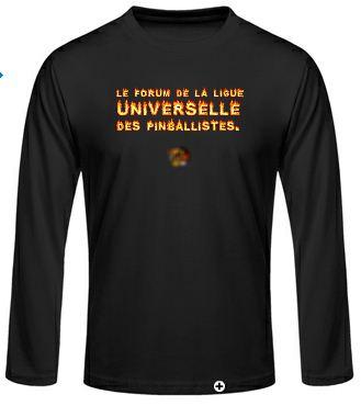 Idée de création d'un T-shirt Lup's Club. Jltcc010