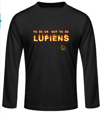 Idée de création d'un T-shirt Lup's Club. Oim0110