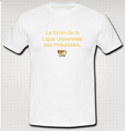 Idée de création d'un T-shirt Lup's Club. Ss0110