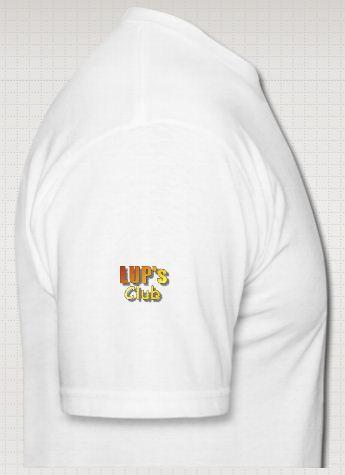 Idée de création d'un T-shirt Lup's Club. Ss0210