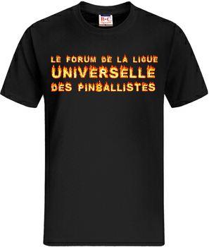 Idée de création d'un T-shirt Lup's Club. T0110