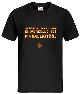 Idée de création d'un T-shirt Lup's Club. Tt0110