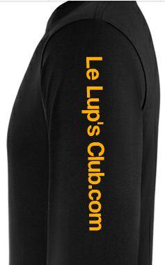 Idée de création d'un T-shirt Lup's Club. Tt0310