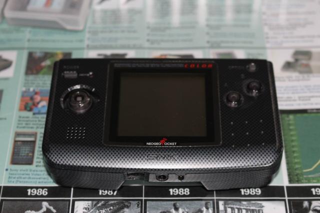 [VDS] Lot NeoGeo Pocket Color + 17 Jeux + Linker Flashmasta + 2 cartouches vierges pour flasher ces jeux (2/cartouches) 00211
