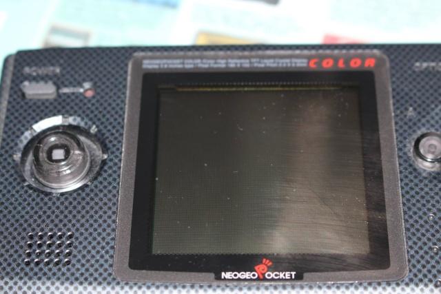 [VDS] Lot NeoGeo Pocket Color + 17 Jeux + Linker Flashmasta + 2 cartouches vierges pour flasher ces jeux (2/cartouches) 00411