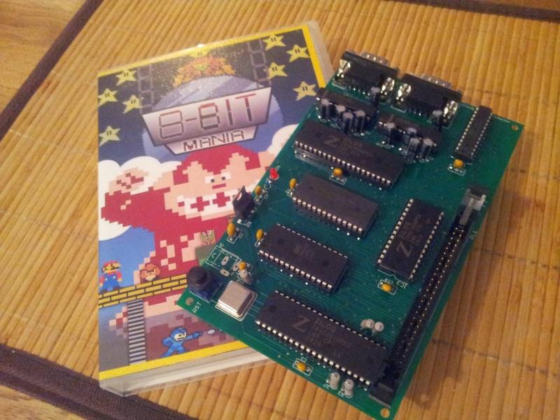 [Neslou Z80 DevBoard] en préparation 20141026