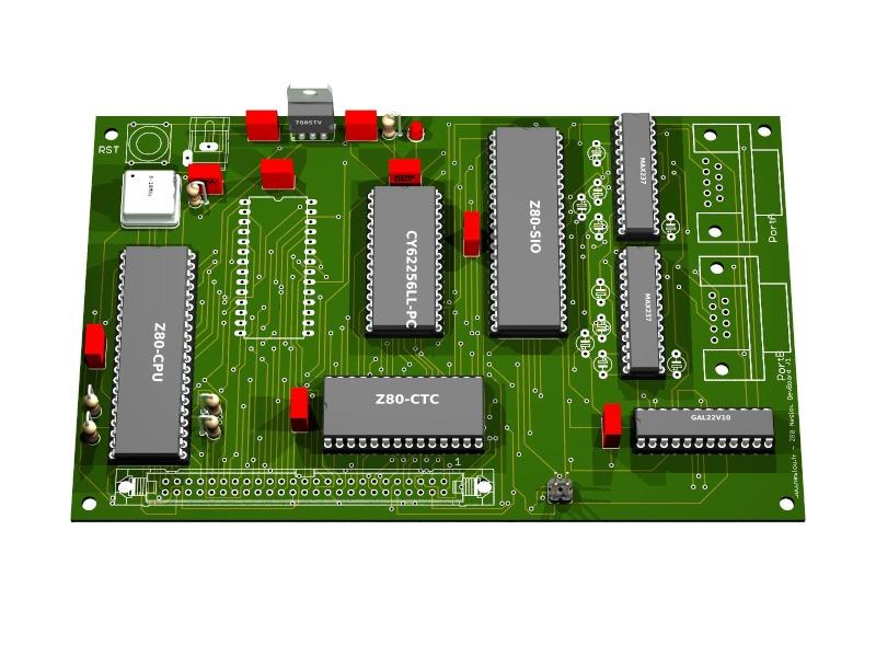 [Neslou Z80 DevBoard] en préparation Neslou16