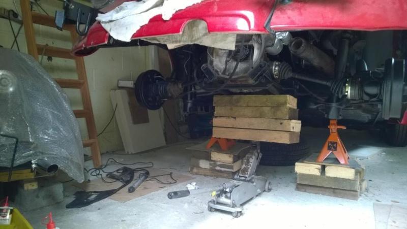 Quelques photos du remontage moteur dans son compartiment Wp_20113