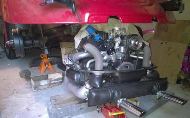 Quelques photos du remontage moteur dans son compartiment Wp_20114