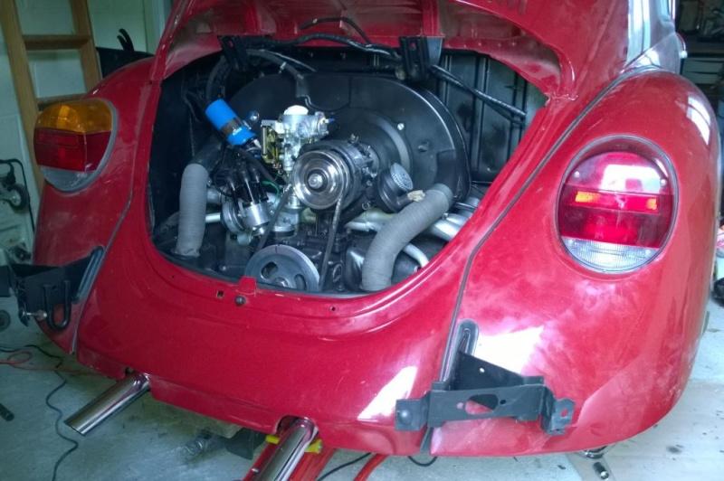 Quelques photos du remontage moteur dans son compartiment Wp_20118