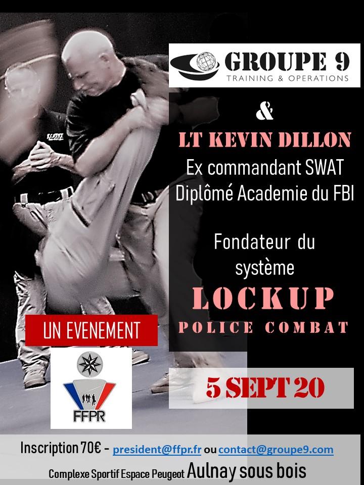 stage Lockup avec Kevin Dillon ex commandant SWAT avec Groupe 9 academy et la FFPR  Dillon10