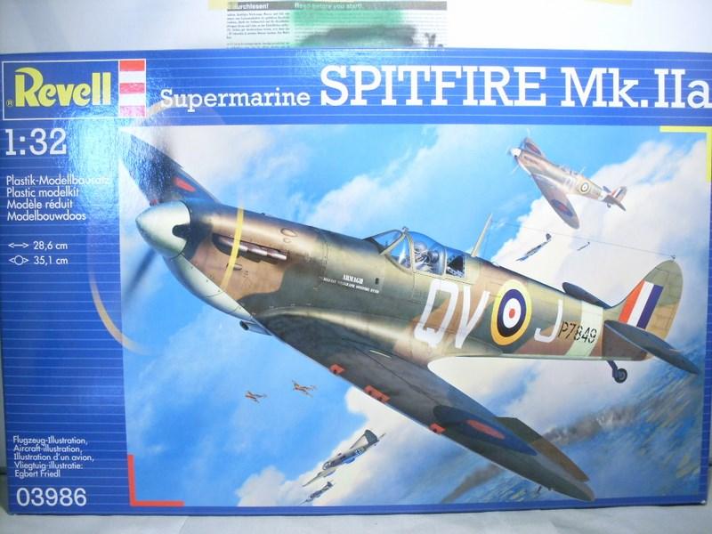 Spitfire Mk.IIa au 1/32 de chez REVELL Achat_26