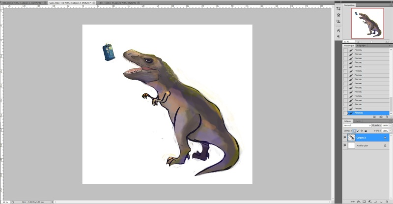 [Tuto Photoshop] Speed painting Captur16
