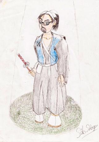 Cadavre Exquis: À la poursuite de la vile Mabilla (coulisse) Crayon11