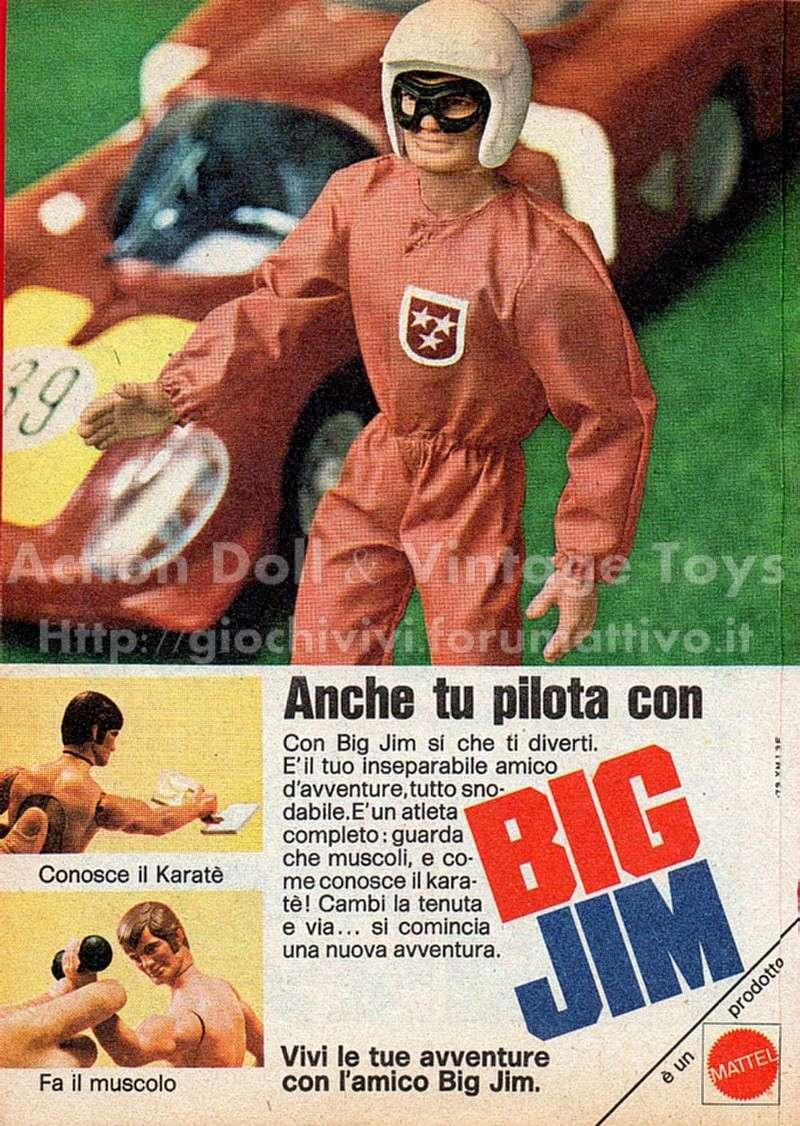 PUBBLICITA' ITALIANE BIG JIM - I PRIMI ANNI Sport-10