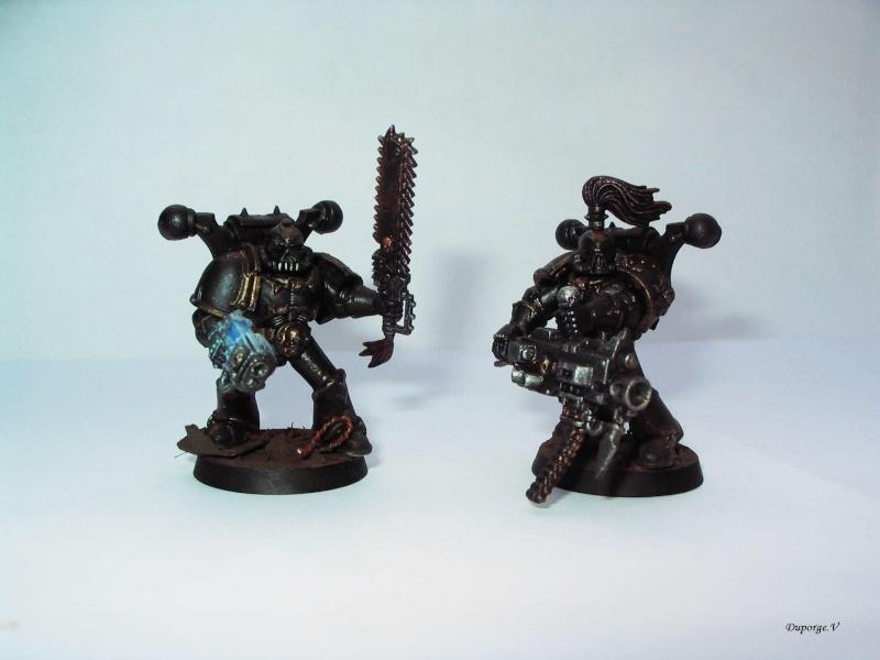 [blackhawk] armée space marine du chaos Warhammer 40K Img_8927