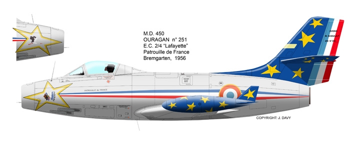 MD 450 OURAGAN de la PAF 1956 (heller) Our_2510
