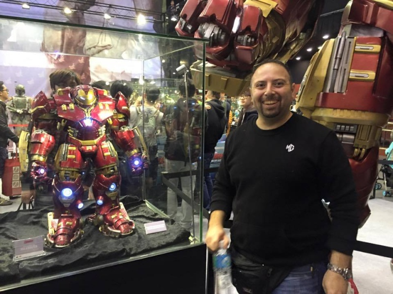 "AVENGERS 2 : AGE OF ULTRON - IRON MAN MARK XLIV ""HULKBUSTER"" (MMS285) 54159210"