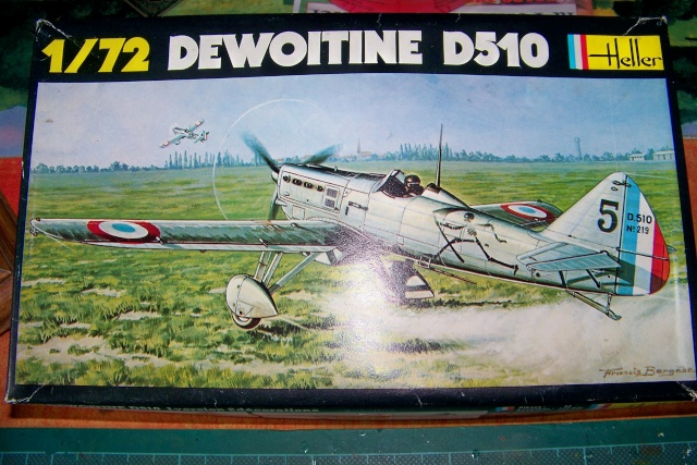 Dewoitine D510 Heller 1/72 (Fini) 100_8150