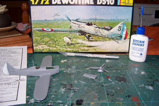 Dewoitine D510 Heller 1/72 (Fini) 100_8152