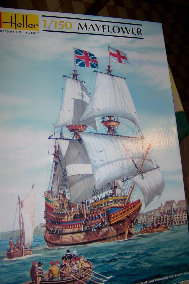 "Mayflower ""Heller"" 1/150 (en fait 1/64) FINI 100_8815"