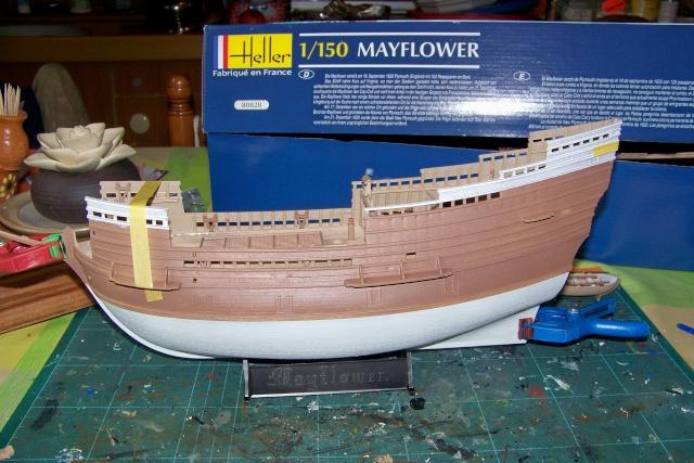 "Mayflower ""Heller"" 1/150 (en fait 1/64) FINI 100_8816"