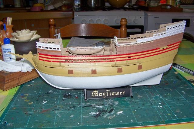 "Mayflower ""Heller"" 1/150 (en fait 1/64) FINI 100_8818"