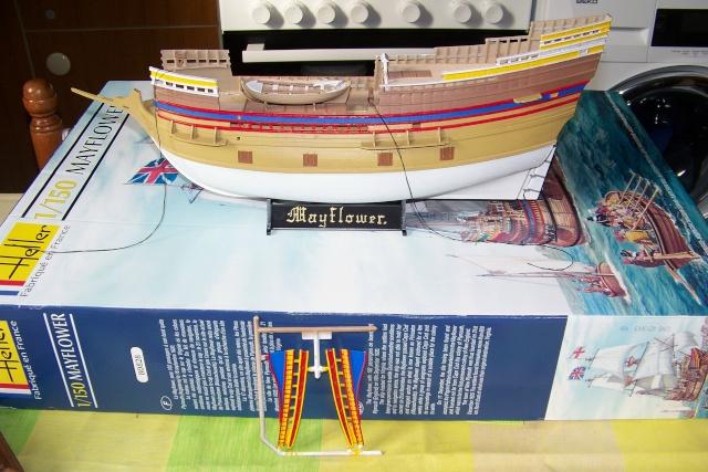 "Mayflower ""Heller"" 1/150 (en fait 1/64) FINI 100_8822"