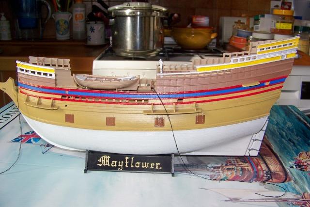 "Mayflower ""Heller"" 1/150 (en fait 1/64) FINI 100_8823"