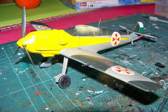 Me 109 E4 (Airfix 1/48) 1939 (Fini) - Page 2 100_8937