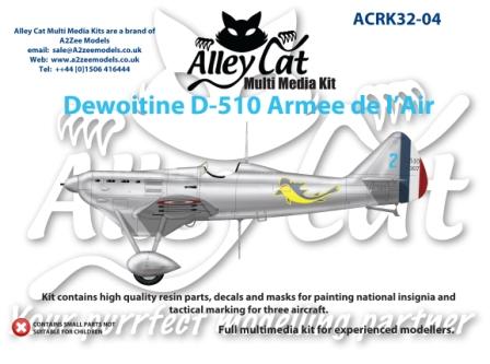 Dewoitine D510 Heller 1/72 (Fini) D51010