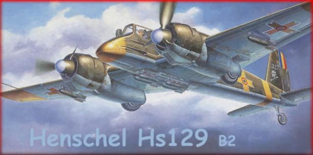 Henschel Hs129 B2 : 1/48 Lt Lazar Munteanu (fini) - Page 2 Hensch11