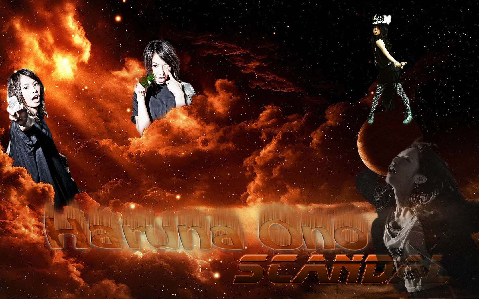 Scandal Wallpapers PC Haruna10
