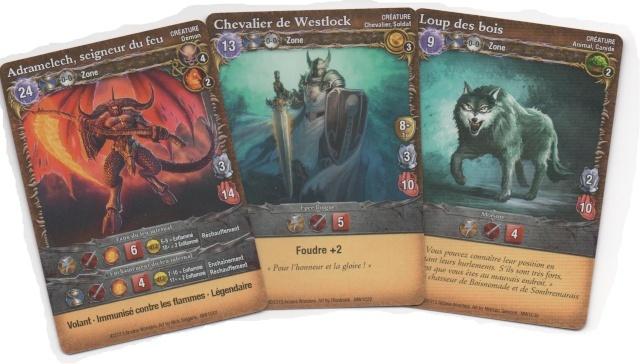 Type de cartes 1 , les créatures Creatu12