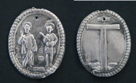 Médaille St-Côme & St Damien - XVIIème Medail11