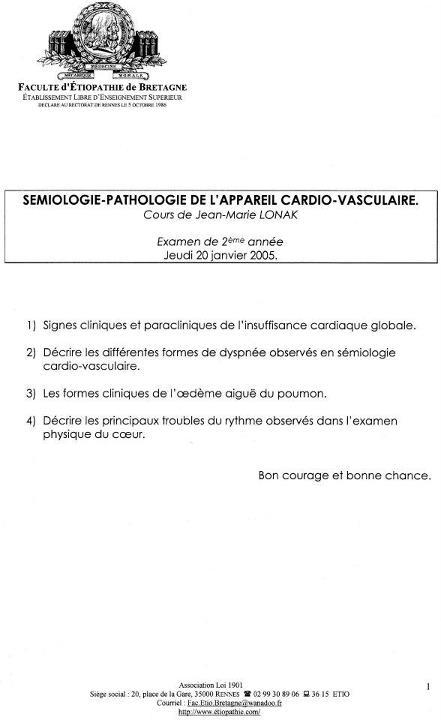 Rennes - 2ème année (2005) Exam_c13
