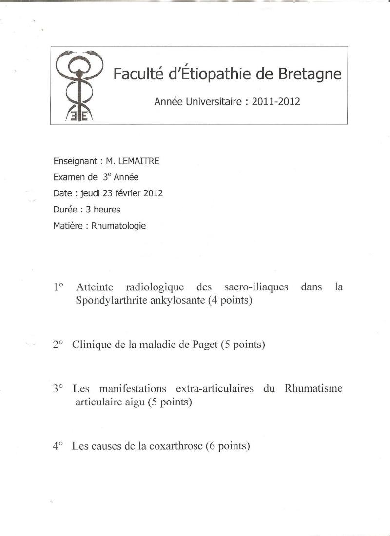 Rennes - 3ème année Rhumat10