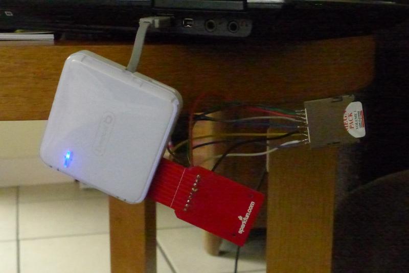 Lecture gamecard Megapack sur PC P1030810