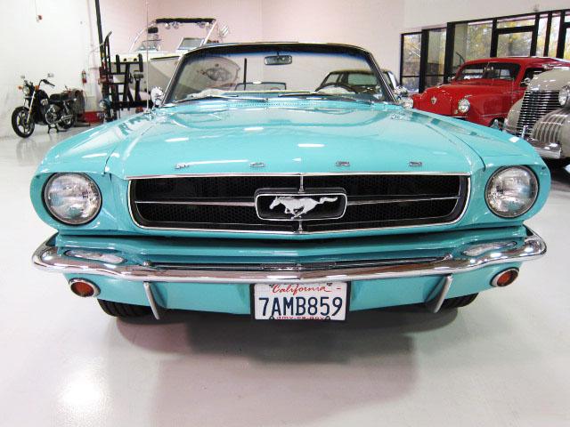 1965 Mustang convertible ** Terminée **  1-465410
