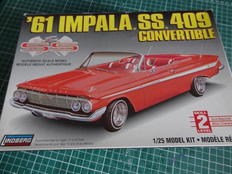 Lindberg 1961 Impala convertible 122