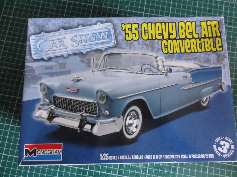 Revell 1955 Bel Air convertible 124
