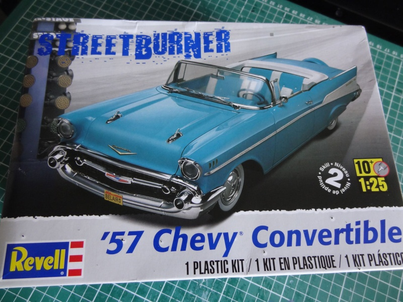 Revell 1957 Chevy Bel Air Convertible 126