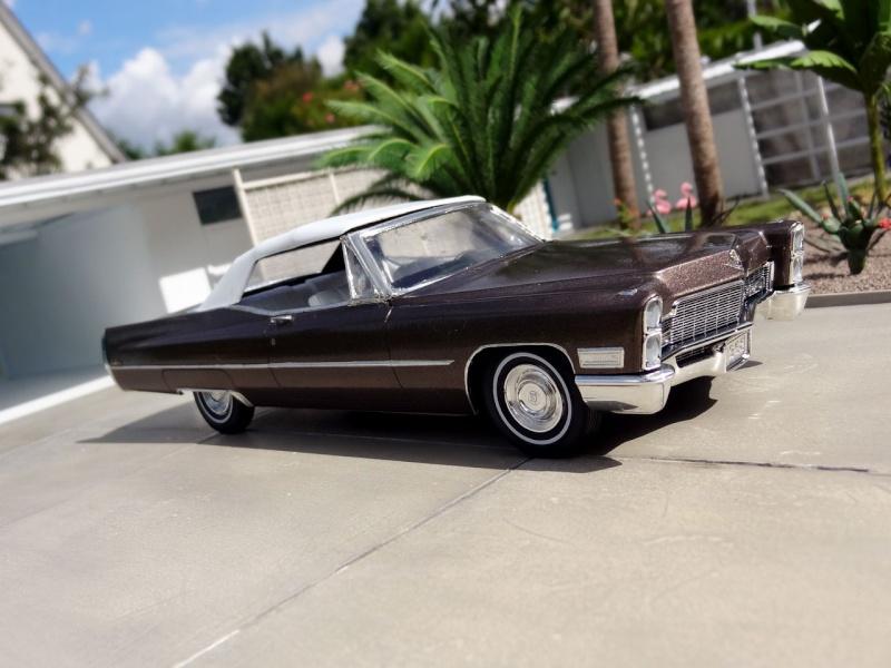 1968 Cadillac Convertible Moka Cappuccino (restauration)  127