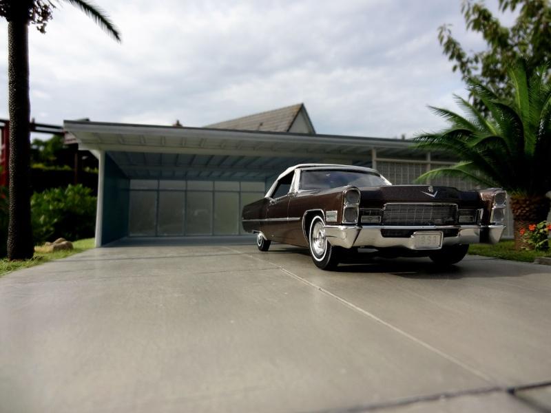 1968 Cadillac Convertible Moka Cappuccino (restauration)  1318